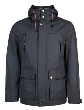 Detachable Hood Nautical Parka with Stormwear™ Clothing