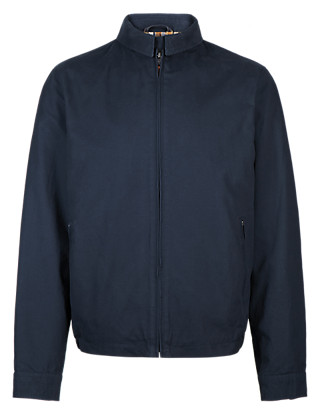 Pure Cotton Harrington Bomber Jacket Clothing
