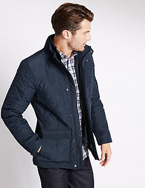 Tailored Fit Thinsulate™ Quilted Jacket with Stormwear™