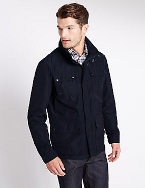 Lightweight Sporty Jacket with Stormwear™