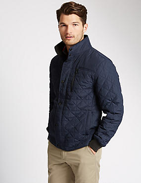 Slim Fit Shirt Jacket with Stormwear™
