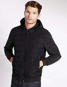 Quilted Bomber Jacket with Stormwear™
