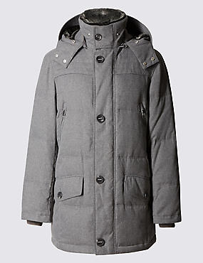 Feather And Down Parka with Stormwear™