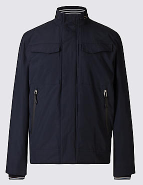 Fleece Bomber Jacket with Stormwear™