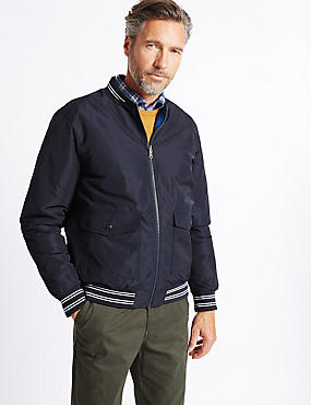Reversible Bomber Jacket with Stormwear™