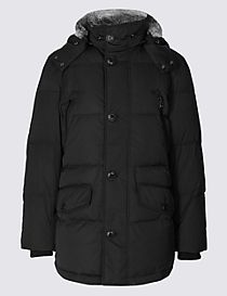 Down & Feather Parka with Stormwear™