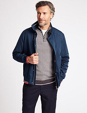 Regatta Bomber Jacket with Stormwear™, NAVY, catlanding