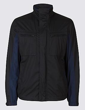 Mesh Jacket, NAVY, catlanding