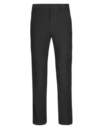Pure Cotton Moleskin Trousers Clothing
