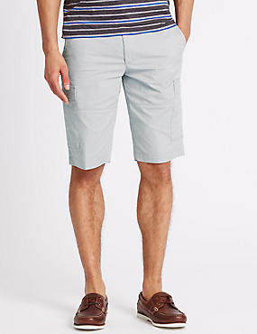 Cotton Rich Cargo Shorts