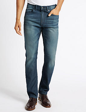 Slim Fit Cotton Rich Stretch Jeans
