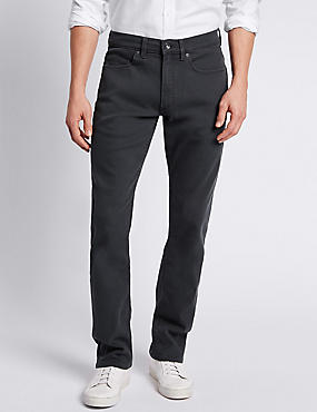 Slim Fit Stretch Jeans, GREY, catlanding