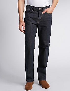 Shorter Length Regular Fit StayNew™ Jeans