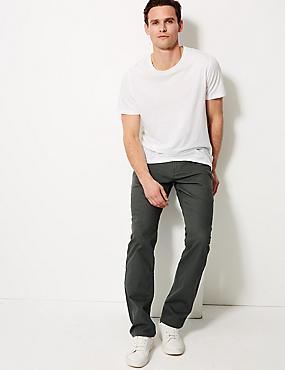 Regular Fit Stretch StayNew™ Jeans, DARK GREY, catlanding