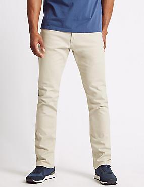 Regular Fit Stretch StayNew™ Jeans, NATURAL, catlanding