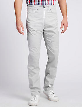 Temperature Regulating Five Pocket Chinos
