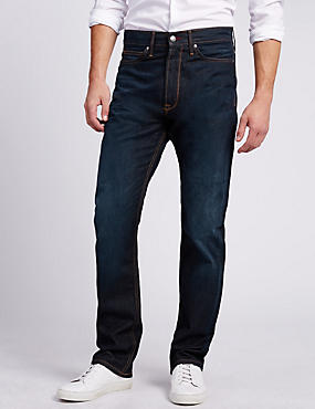 Washed Look Regular Fit Jeans