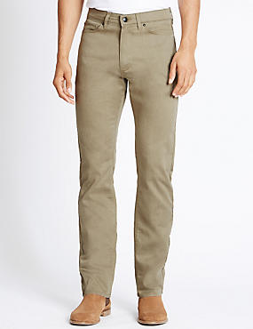 Climate Control Jean Style Trousers with Buttonsafe™