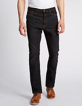 Big & Tall Straight Fit Stretch Jeans