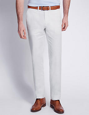 Italian Fabric Cotton Rich Tailored Fit Chinos