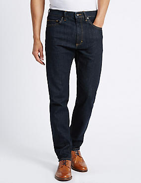 Tapered Lightweight Jeans