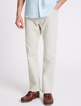 Straight Fit Jeans, ECRU, catlanding