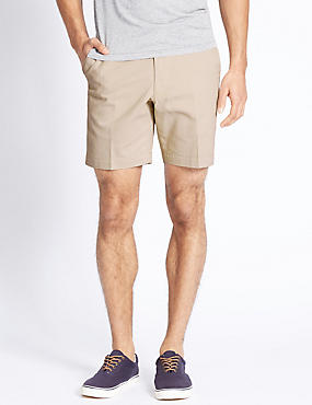 Tailored Fit Pure Cotton Shorts