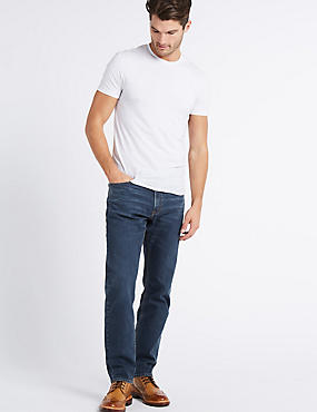 Sustainable Stay Fresh Stretch Jeans, TINT, catlanding