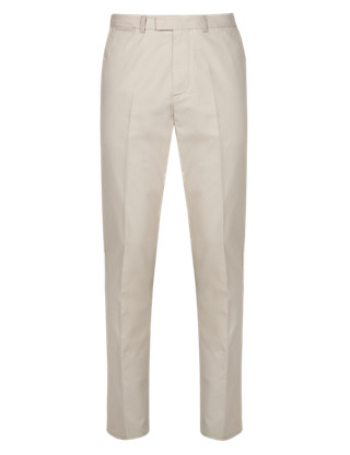 Pure Cotton Soft Touch Tailored Fit Chinos Clothing