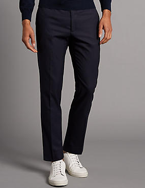 Flat Front Slim Fit Chinos