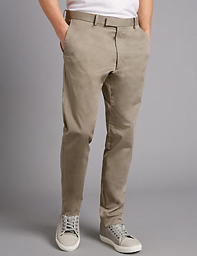 Slim Fit Sateen Rich Chinos