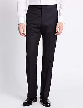 Big & Tall Luxury Pure Wool Trousers