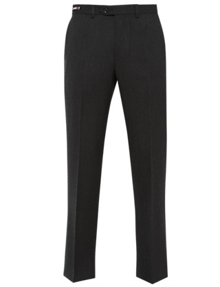 Luxury Winter Weight Pure Wool Twill Trousers Clothing