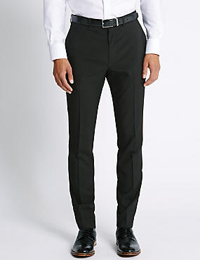 Slim Fit Formal Trousers | M&S