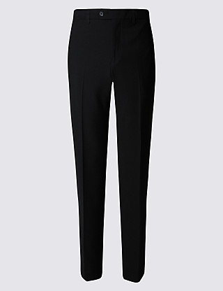 Flat Front Trousers Clothing