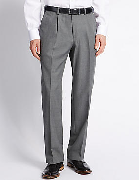 Single Pleat Trousers
