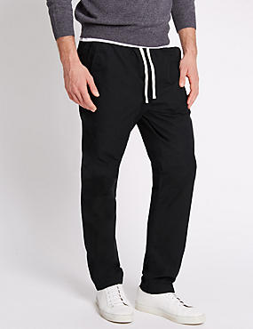 Pure Cotton Pull On Trousers
