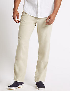 Big & Tall Regular Fit Trousers, LIGHT STONE, catlanding