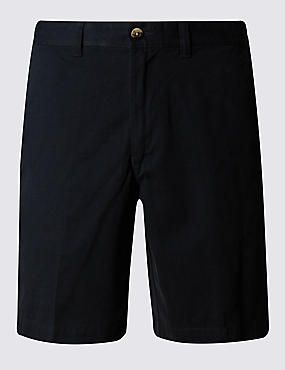 Pure Cotton Tailored Fit Chino Shorts