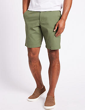 Big & Tall Pure Cotton Chino Shorts, , catlanding