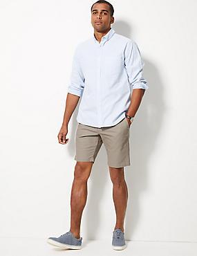 Cotton Rich Chino Shorts, LIGHT STONE, catlanding