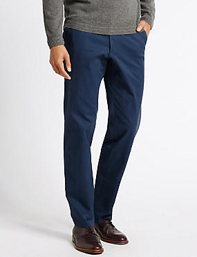 Cotton Rich Stretch Chinos