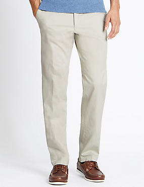 Tailored Fit Cotton Rich Chinos