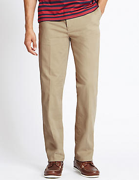 Cotton Rich Climate Control Chinos