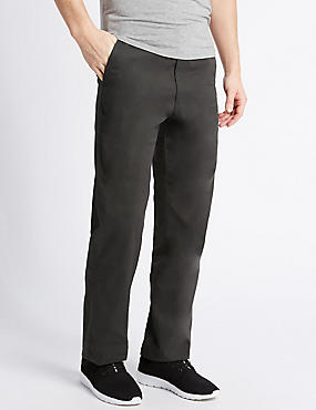 Regular Fit Cotton Rich Chinos