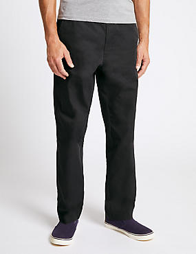 Super Lightweight Regular Fit Chinos, DARK CHARCOAL, catlanding