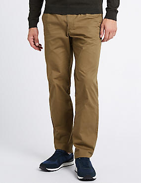 Cotton Rich Slim Fit Chinos