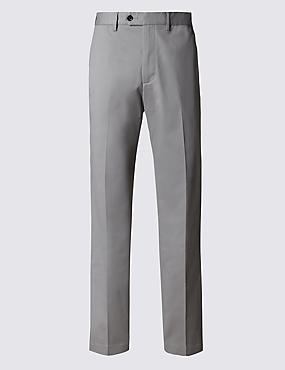 Wrinkle Free Tailored Fit Chinos