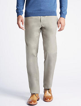 Regular Fit Chinos with Stormwear™, PEARL GREY, catlanding