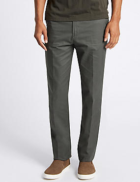 Regular Fit Chinos with Stormwear™, GREY, catlanding